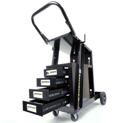 wózek spawalniczy z szufladami
